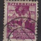 Austria 1934/35 - Scott  357 used -  5g,  Carinthia costume  (8-372)