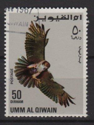 Umm Al Qiwain 1967  - Cinderella stamps - 50np, Eagle  (G - 485)