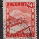 Austria 1947/48  -  Scott  506  used -   40g, Scenic View,  Mariazell Styria (8-450)