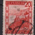 Austria 1947/48 -  Scott  504 used -   20g, Scenic View,  Lake Constance (8-447)