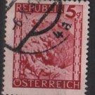 Austria 1945/46  -  Scott  457 used -  5g, Scenic View, Leopoldsberg (8-433)
