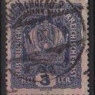Austria 1916/18 - Scott 145 used - 3h, Austrian Crown (8-491)