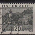 Austria 1929/30 - Scott 331 used -  20g,  Scenic view, Durnstein (8-473)