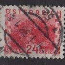 Austria 1932 - Scott 344 used - 24g,  Scenic view, Salzburg (8-466)