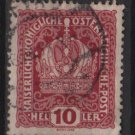 Austria  1916/18 -  Scott 148  used  - 10h, Austrian Crown (8-511)
