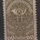 Austria  1919/20 -  Scott 216 MH - 60h, Post horn (8-556)