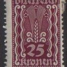 Austria 1922/24  - Scott  261 MH - 25k, Symbols of   Agriculture (8-628)