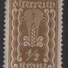Austria 1922/24  - Scott  250 MH  - 1/2k,  Symbols of  Agriculture  (8-595)