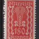 Austria 1922/24  - Scott  272 MH- 180k, Symbols of  Agriculture  (8-654)