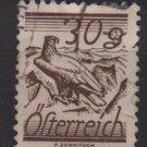 Austria 1925/27  - Scott 318  used -  30g, Fields crossed by Telegraph wires  (8-720)