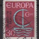 Germany 1966 - Scott 964 used - 30pf, Europa issue, common design (9-363)