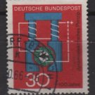Germany 1966 - Scott 966 used - 30pf, Progress in Science, dynamo (9-353)