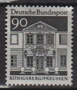 Germany 1966/69 - Scott 947 MNH - 90 pf, Zschocke Ladies' home, Konigsberg (9-378)