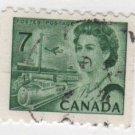 CANADA 1971 - Scott 549 , coil - Elizabeth II, Transportation means    (o-325)