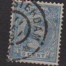 Netherlands 1891-94 issue - Scott  41 used - 5c, Princess Wilhelmina   (8-504)