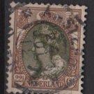 Netherlands 1898 – Scott 76 used – 22.1/2c, Queen Wilhelmina (9-471)