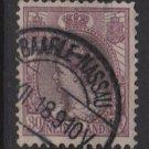 Netherlands 1898 - Scott 78 used - 30c, Queen Wilhelmina (9-474)