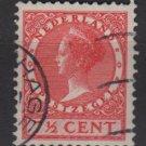 Netherlands 1926 - Scott 175 used - 7.1/2c, Queen Wilhelmina  (9-504)