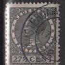 Netherlands 1926 - Scott 188 used - 27.1/2c, Queen Wilhelmina  (9-511)