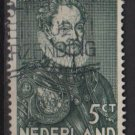 Netherlands 1933 - Scott 197 used - 5c, William I   (9-514)