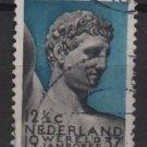Netherlands 1937- Scott 208 used - 12.1/2c, Boy Scout Jamboree, Mercury (9-522)