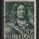 Netherlands 1943/1944 - Scott 253 used -  10c, Johan Evertsen  (9-567)