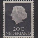 Netherlands 1953/71 - Scott 347 MH - 20c, Queen Juliana (9-656)