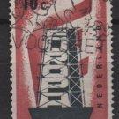 Netherlands 1956 - Scott 368 used - 10c, Europa    (9-689)