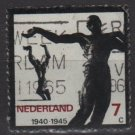 Netherlands 1965 - Scott 432 used - 7c, Resistance movement of WWII  (9-730)