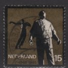 Netherlands 1965 - Scott 433 used - 15c,Resistence Movement  (9-752)