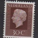 Netherlands 1969/75 - Scott 461  MH - 30c, Queen Juliana (9-768)