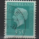 Netherlands 1969/75 - Scott 461A used - 35c, Queen Juliana (9-770)