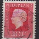 Netherlands 1969/75 - Scott 462 used - 40c, Queen Juliana (9-772)