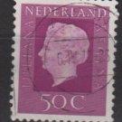 Netherlands 1969/75 - Scott 464 used - 50c, Queen Juliana (9-776)