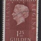 Netherlands 1969 - Scott 470 used - 1.25g, Queen Juliana   (9-786)