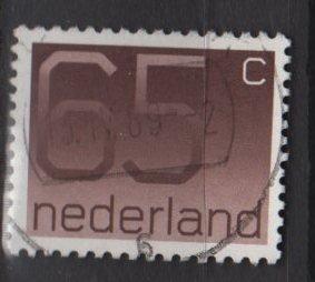 Netherlands 1976/86 - Scott  545 used - 65c, Numeral (9-825)