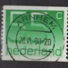 Netherlands 1976/86 - Scott  552 coil, used - 55c, Numeral (9-833)