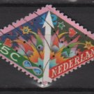 Netherlands 1993 - Scott 848 used - 55c, December Stamps (9-400)