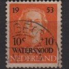 Netherlands 1953 - Scott B248 used - Semi-Postal Flood relief  (10-26)