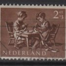 Netherlands, semi-postal, 1954 - Scott B271 used - 2c + 3c, Chidren (10-110)