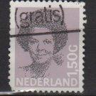 Netherlands 1986-90 - Scott 686 used - 1.50g, Queen Beatrix type of '81 (10-128)
