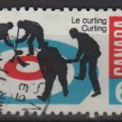 Canada 1969 - Scott 490 used - 6c, Curling   (10-164)