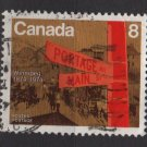 CANADA 1974 - Scott 633 used - 8c, Winnipeg city  (10-168)