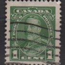 CANADA 1935 - Scott 217 used - 1c, King George V    (10-212)