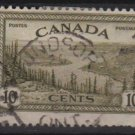 Canada 1946  - Scott 269 used - 10c, Great Bear Lake, Mackenzie (10-252)