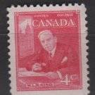 CANADA 1951 - Scott 304 MH - 4c, WML King  (10-289)