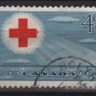 CANADA 1952 - scott 317 used - 4c, Red Cross Conference (10-310)