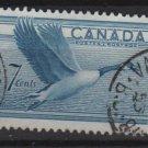 CANADA 1952 - scott 320 used - 7c, Goose (10-316)