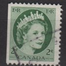 CANADA 1954 - Scott 338 used - 2c Queen Elizabeth II   (10-337)