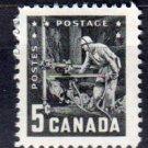 CANADA 1957 - Scott 373 MH - 5c, Mining Industry   (10-373)